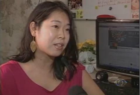 Kelly Nagaoka, da Nagaoka Mídias Sociais, na TV Band Vale