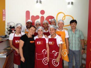 Equipe Iris Massas Rotisserie, em Mogi das Cruzes