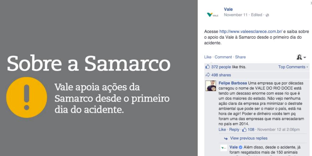 vale - samarco-crise nas midias sociais