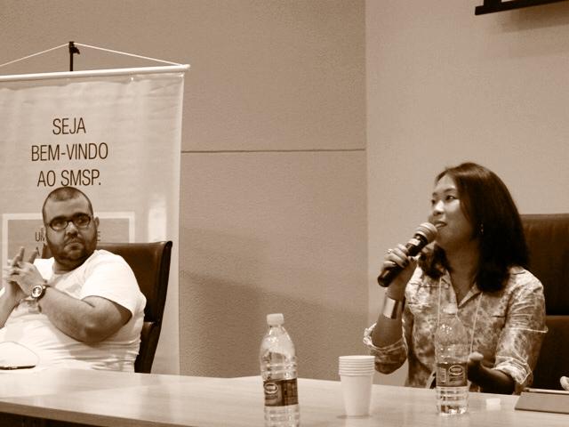 Kelly Nagaoka participa de debate no Diálogos por SMSP em SJC
