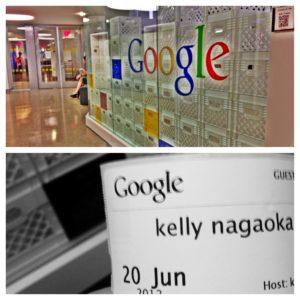 Sonho realizado: Kelly Nagaoka no Google em NY