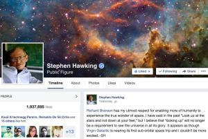 stephen hawking facebook2
