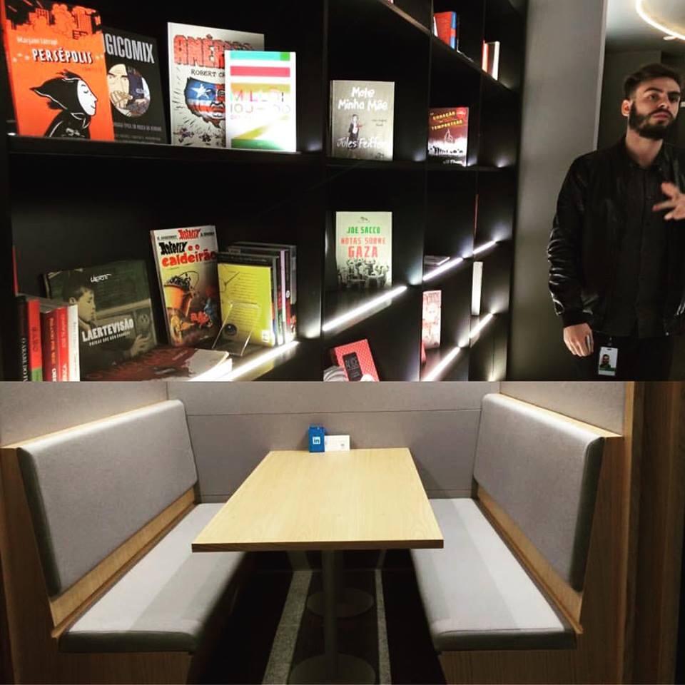 Biblioteca do LinkedIn São Paulo