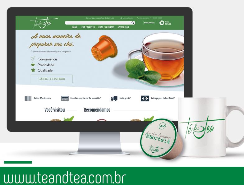 Té & Tea, uma maneira inovadora de preparar seu chá com cápsulas Nespresso