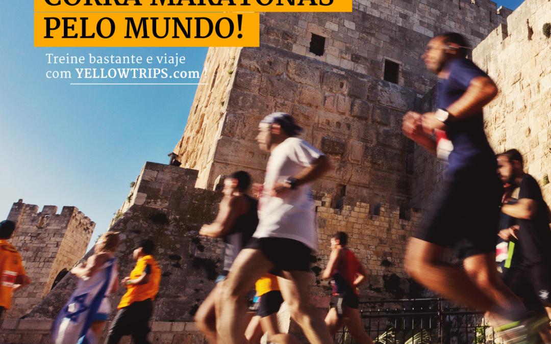 """Yellow Trips, agência de viagem de Taubaté, oferece o conceito """"Maratonas pelo Mundo"""""""