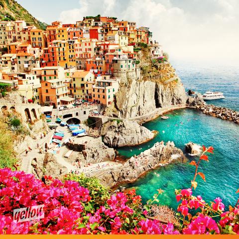 Dica Yellow Trips para viagem romântica: Conheça Cinque Terre