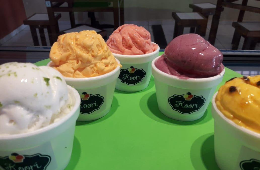 Sorvetes sem lactose fazem sucesso na Koori