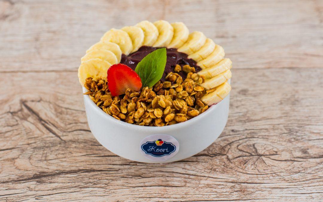 Conheça as variadas combinações com polpa de açaí da Koori sorvetes