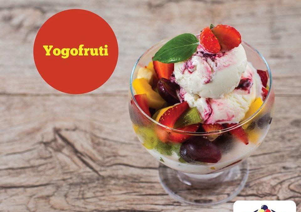 Yogofruti, da Koori Sorvetes Taubaté: refresque-se com saúde