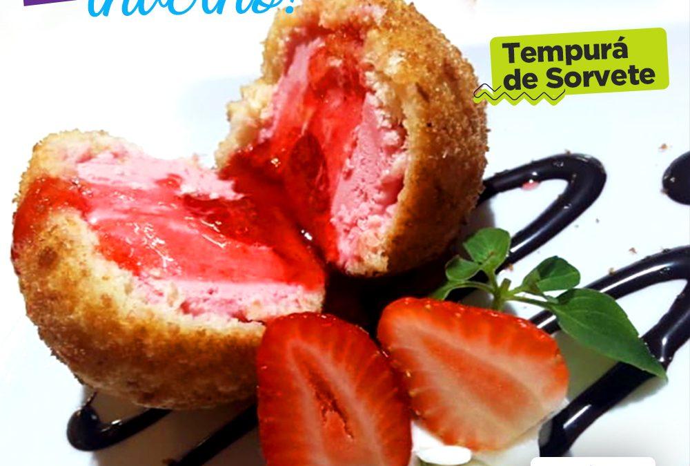 Tempurá de sorvete da Koori, em Taubaté, receita exclusiva
