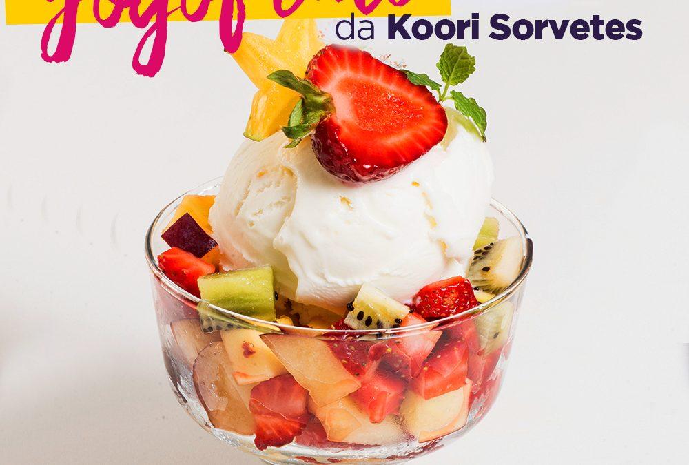 Taça saudável e refrescante para saborear em casa: Yogofruti, da Koori Sorvetes